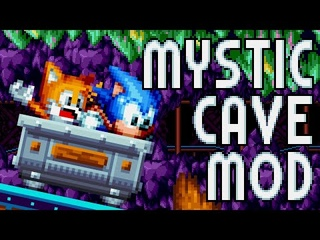 Mystic Cave Zone Mania-fied! (мод для Sonic Mania)