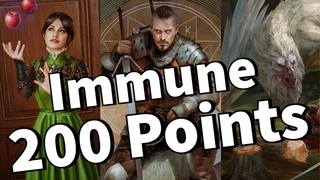 Nothing Says It's Over Like a 200 Point Immune Erland! | Gwent Patience Archgriffin Deck Gameplay