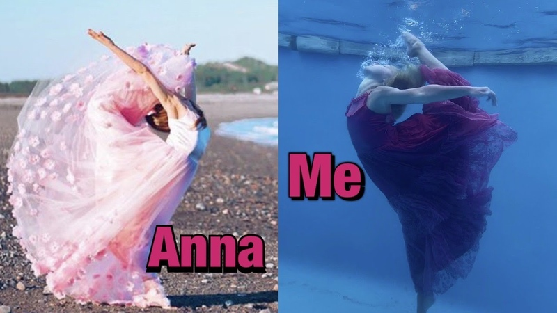 Recreating Anna McNultys Contortion Pics UNDERWATER! *Extreme* lillyk Contortion annamcnulty