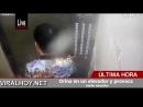 Orina en un elevador y provoca corto circuito