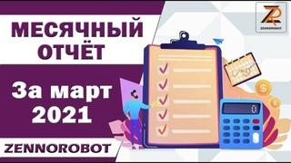 """Отчёт """"Март 2021"""" по инвестициям. Инвестиционный портфель"""