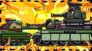 Trò chơi bắn xe tăng quái vật -Trận chiến của Đấu sĩ Soviet 2 | Phim hoạt hình về xe tăng