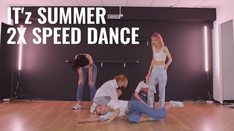 DANCE PRACTICE X2 SPEED VER ITZY 있지 IT'z SUMMER Dance Cover by training for the ballet potter