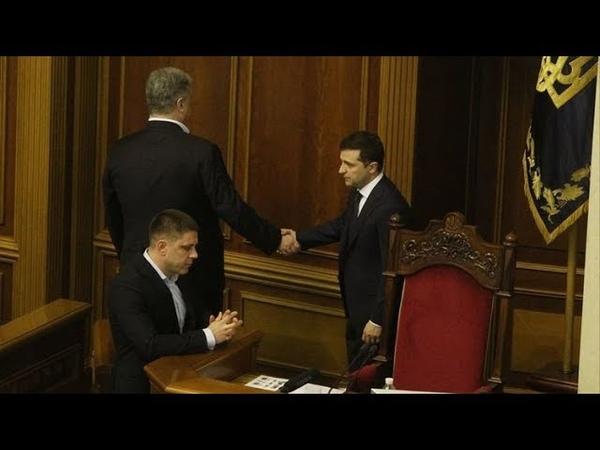Договорняки Порошенка Скандальний наказ шокував країну Просто в прямому ефірі він втік