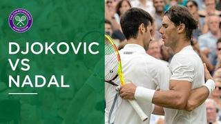 Novak Djokovic vs Rafael Nadal | All the Winners from their Wimbledon 2018 Semi-Final