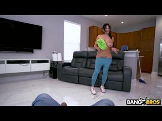 [BangBros] Mona Azar - Curvy Maid Bangs For Bucks