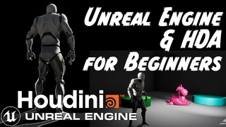 Introduction to HDA (Houdini Digital Asset) in Unreal Engine UE4 & Houdini for Beginners