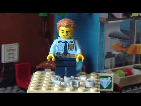 Лего 60241 (Полицейский отряд с собакой)