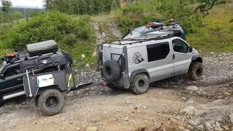 Renault trafic 4x4 expedition campervan