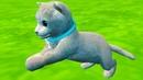 Симулятор Кота 7 Карусели и Аттракционы с Серым котенком в Cat Simulator Kitty Craft на пурумчата