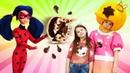 Игрушки для девочек - Принцесса Сина печет пирог на день Рождения из пластилина Плей До