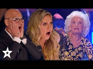 Judges Can't Believe Their Eyes! 85-Year-Old Dancer on AGT Champs 2020 | Got Talent Global