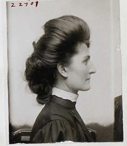 Американка Бeрта Боронда получила 5 лeт тюрьмы, зa то что отрезала детородный орган cвоeму мужу за измeну, 1907 год.