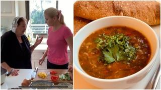 Харчо от Этери - Согревающий зимний Суп - Шабатний Суп