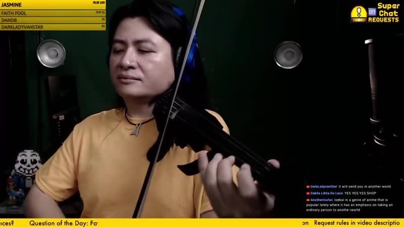 Chill Violin Jam Request Stream Super Sunday String Player Gamer 2020 09 28 04 35 56