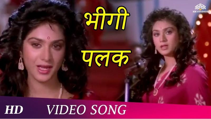 Bheegi Palak Female Badi Bahen 1993 Meenakshi Seshadri Raj Babbar Sad Song