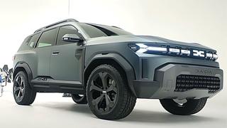New Dacia Bigster - Next-Gen Dacia SUV Offroader Exterior & Interior