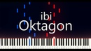 Oktagon - ibi Piano Tutorial (Synthesia) | bluvs