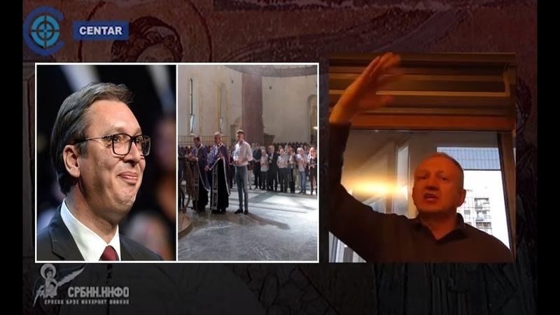 Đilas Vučić svađa i deli narod umesto da je dozvolio da se ide u crkvu na Vaskrs