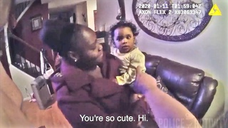 Bodycam Shows Gwinnett Cops Helping Mom Celebrate Daughter's 1st Birthday