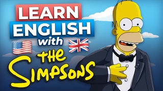 Learn English with the Simpsons' Trip to England | British Stereotypes