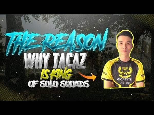 The Reason Why TACAZ IS KING of SOLO vs SQUAD PUBG Mobile Highlights Takaz