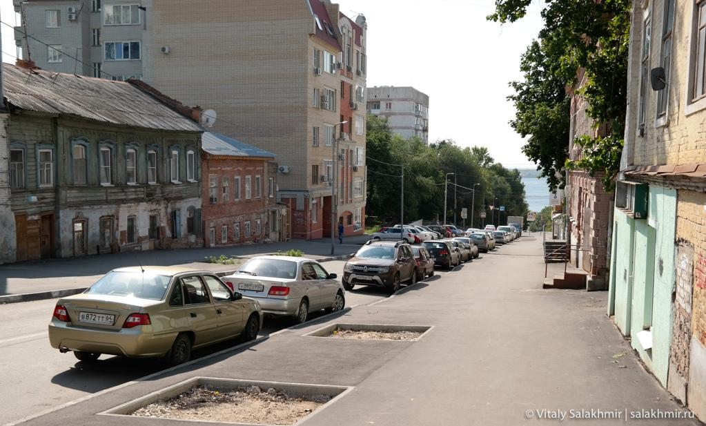 Район около набережной в Саратове 2020