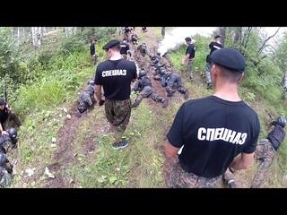 Спецназ ГУФСИН и сотрудники колоний боролись за Черный берет в Первоуральских лесах