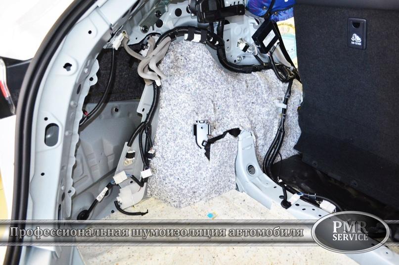 Комплексная шумоизоляция Lexus NX 200, изображение №12