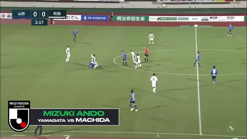 Чемпионат Японии 2020 Вторая лига Все голы 38 го тура