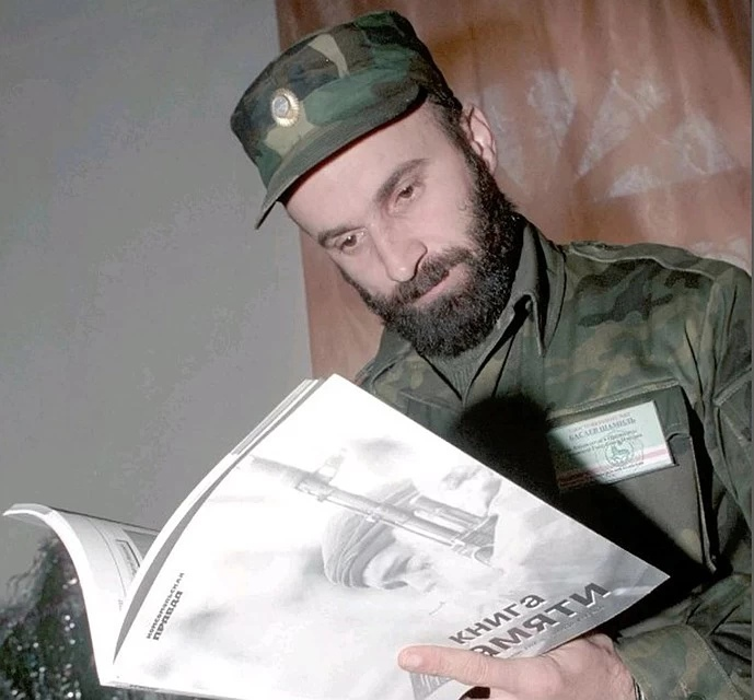 Шамиль Басаев. Фото: Владимир ВЕЛЕНГУРИН