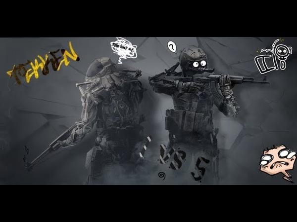 Warface Моменты с РМ Имбицилы в тиме 1vs5