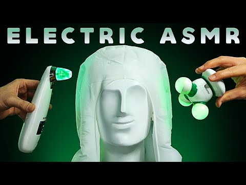 ASMR Electric Triggers from Ear to Ear No Talking Hum Whir BuZzZz