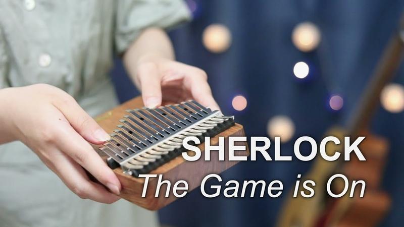 The Game is On SHERLOCK BBC Main Theme Kalimba Cover