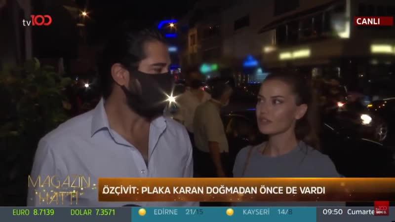"""Fahriye Evcen'den Burak Özçivit'e """"Süper Bir Baba"""" İltifatı!"""