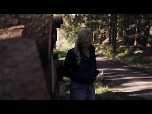 Woman Levis in forrest