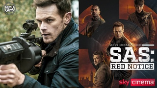 SAS Red Notice - Sam Heughan on the powerful adaptation of Andy McNab's thriller