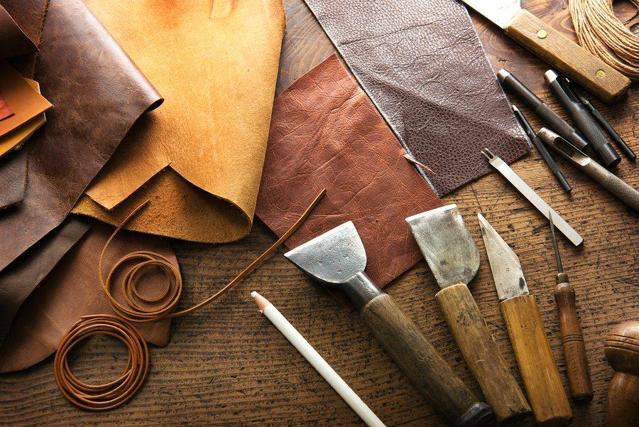 Как делают кожу для кожаных изделий?