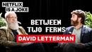 David Letterman Between Two Ferns with Zach Galifianakis Netflix Is A Joke