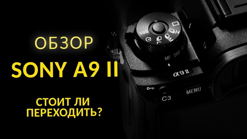Обзор Sony A9 II Стоит ли купить Sony A9 Mark II Sony Alpha 9 II против Sony A9 и Sony A7 III