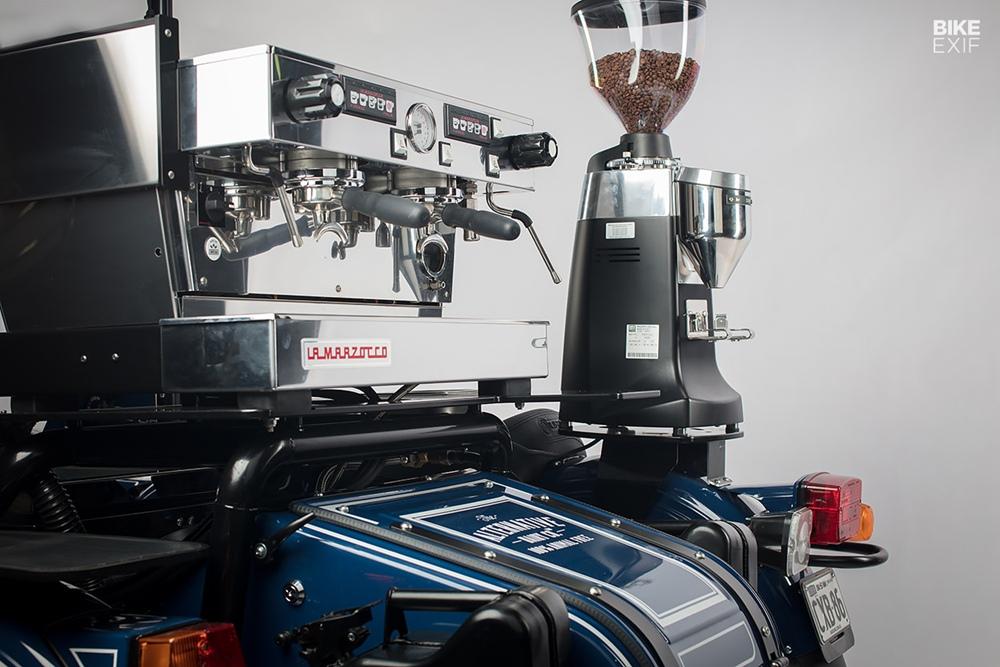 Gasoline Motor Co.: мобильное кофе кафе на базе Урала