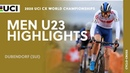Men U23 Highlights | 2020 UCI Cyclo-cross World Championships - Dubendorf (SUI)