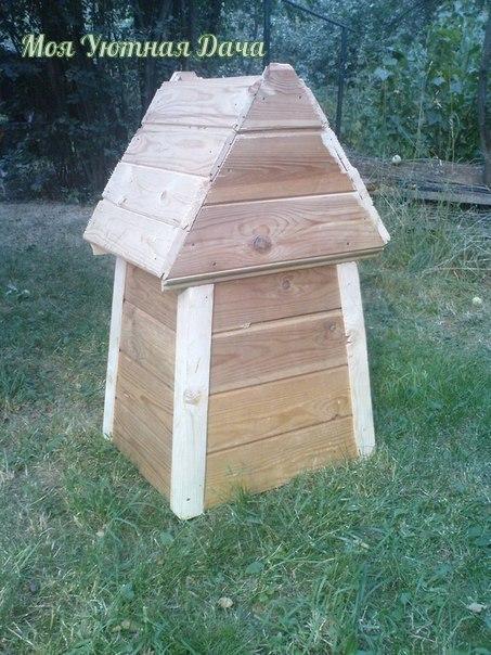Декоративная мельница для сада своими руками!