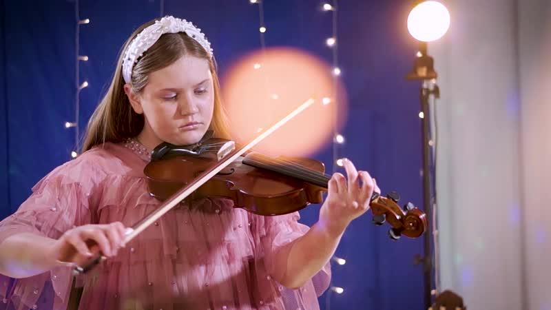 Мелодия английской народной песни A Maid in Bedlam