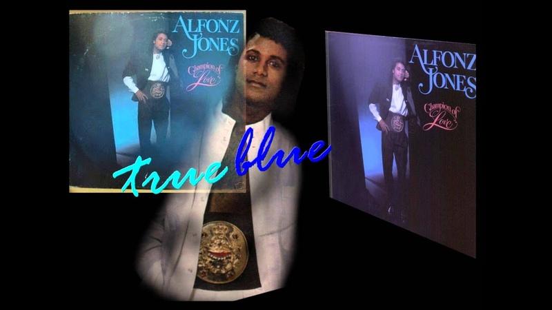 ALFONZ JONES true blue FUNK 1988