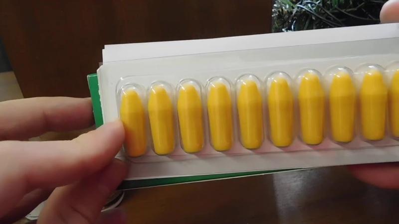 Свечи от простатита Andro Vita