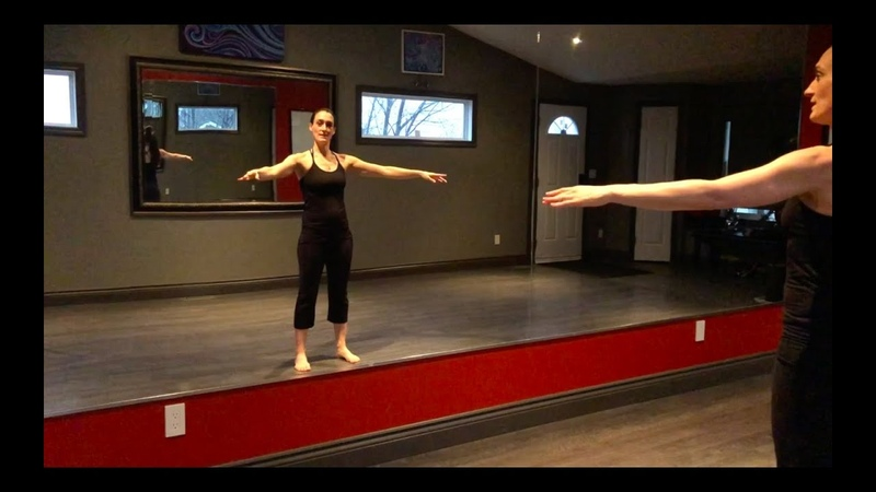 Figure skating tips - how to hold arms properly with Roselle Doyle - Video 1