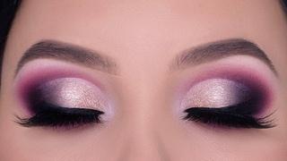 GLAM Smokey Cut Crease Eye Makeup Tutorial