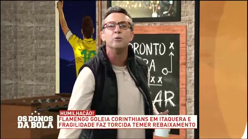 Neto sobre Caio Ribeiro