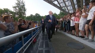 Зрители стоя встречали Лукашенко! Славянский базар-2021. Открытие. Речь Лукашенко